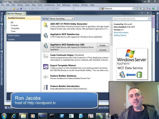 endpoint.tv - AppFabric WCF DataService (VB)