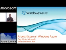 Azure Summit - Windows Azure:s Web och Worker Role