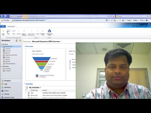CRM 2011 Online Reporting with Abhijit Gore