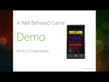 New! Windows Phone 7 Jump Start (Session 15 of 19): XNA Deep Dive, Part 2