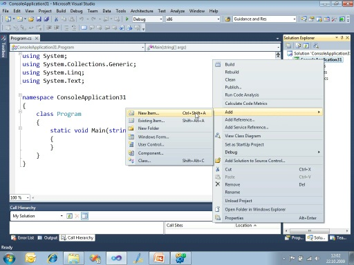 Visual Studio 2010 & .NET Framework 4 – Highlights