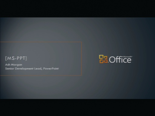 MS-PPT Binary File Format Presentation