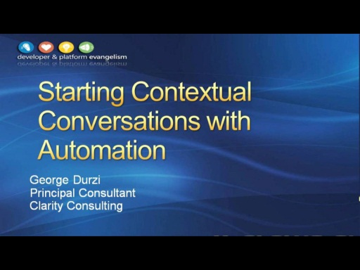 Session 4 - Part 2 - Starting Microsoft Lync 2010 Conversations Using the Microsoft Lync 2010 Managed API