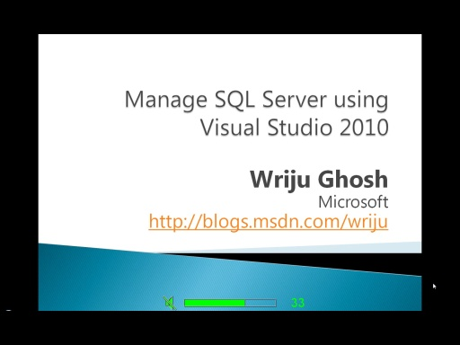 Visual Studio 2010 Database Development