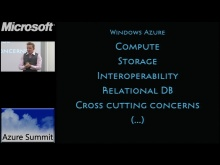 Azure Summit - Introduktion till Windows Azure Platform