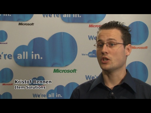 REMIX10 - Interview: Kristof Rennen from Item Solutions on Silverlight for business applications