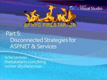 Entity Framework Firestarter - Session 5 (of 6)