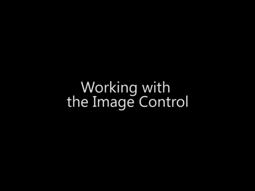 Working with the Image Control - Day 3 - Part 1