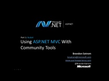 ASP.NET MVC With Community Tools Part 1: NuGet