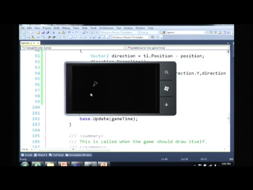 Windows Phone 7 Developer Launch (Part 5 of 6): Step Up Your Game with Windows Phone 7 and XNA