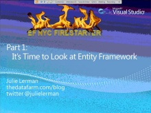 Entity Framework Firestarter - Session 1 (of 6)