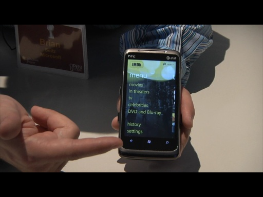 IMDB on Windows Phone 7: Hands on Demo