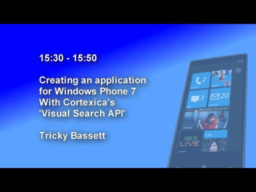 DDD Windows Phone 7 Event - Session 7