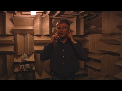 Microsoft Campus Tours - Microsoft Research Part 1 - The Anechoic Chamber