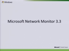 Network Monitor 3.3 (Netmon) Protocol Analysis 2010