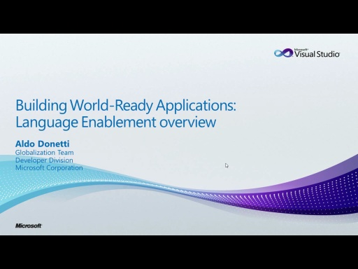 WR Series: Language Enablement