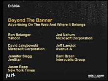 Beyond the Banner: Advertising on the Web and Where It's Going