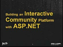 Building an Interactive Community Platform with ASP.NET