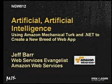 Artificial Artificial Intelligence: Using Amazon Mechanical Turk and .NET to Create a…