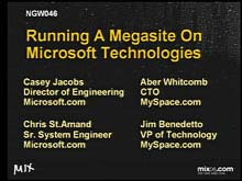 Running a Megasite on Microsoft Technologies