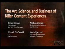 The Art, Science, and Business of Killer Content Experiences