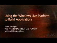Using Windows Live Services in Your Own Web Applications