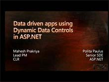Developing Data Driven Applications Using the New Dynamic Data Controls in ASP.NET