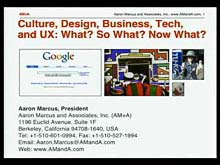 Culture, Design, Business, and Technology: What? So What? Now What?