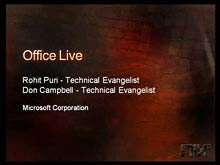 Developing for Microsoft Office Live
