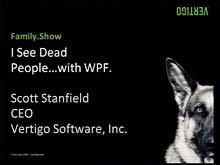 Family.Show: I See Dead People, with Windows Presentation Foundation
