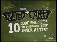 Nerd + Art: Ten Code Snippets to Empower Your Inner Artist
