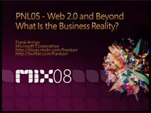 Web 2.0 and Beyond: What Is the Business Reality?