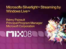 Serving Applications with Silverlight Streaming by Windows Live