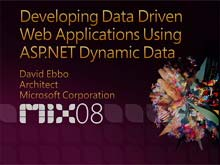 Developing Data Driven Applications Using ASP.NET Dynamic Data Controls
