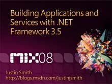 Building Applications and Services with .NET Framework 3.5