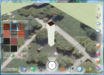 3-D Models in Virtual Earth