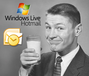Access your Windows Live Hotmail in Outlook 2003/07