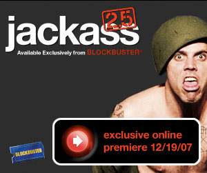 Silverlight, Blockbuster and Jackass team up. Really?