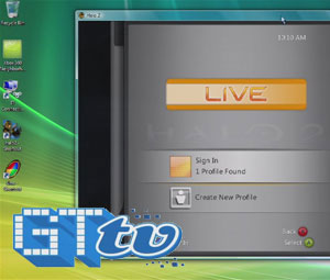 Live on Windows - Halo 2 and UNO video