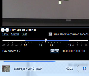 WMP Time Saving Tip: Watch/Listen to Media at 1.4x Speed