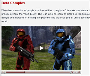 Red vs Blue welcome you to Halo 3