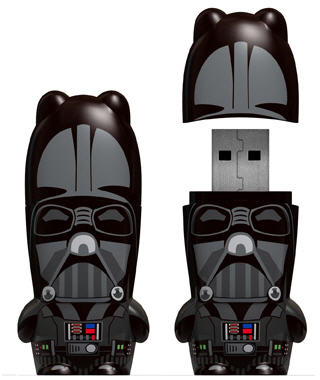 Star Wars series Mimoco flash drives begin with Vader