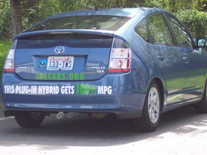 CalCars... Taking a Prius Hybrid to 100+ MPG!