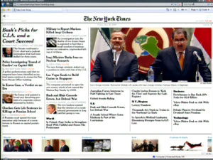"""Times Reader""  The New York Times on Windows Vista!"