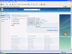 Windows Live Gallery: the one-stop shop for all your Windows Live customization needs