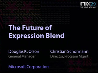 The Future of Microsoft Expression Blend