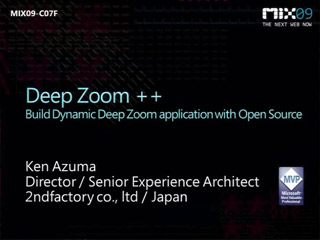Deep Zoom++ : Build Dynamic Deep Zoom Applications with Open Source