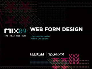 Web Form Design
