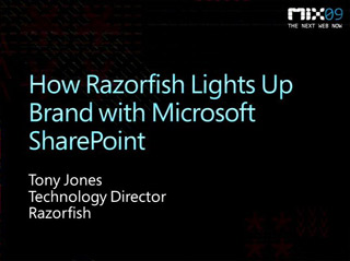How Razorfish Lights Up Brand with Microsoft SharePoint