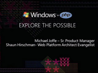 Running PHP on Microsoft Servers and Services